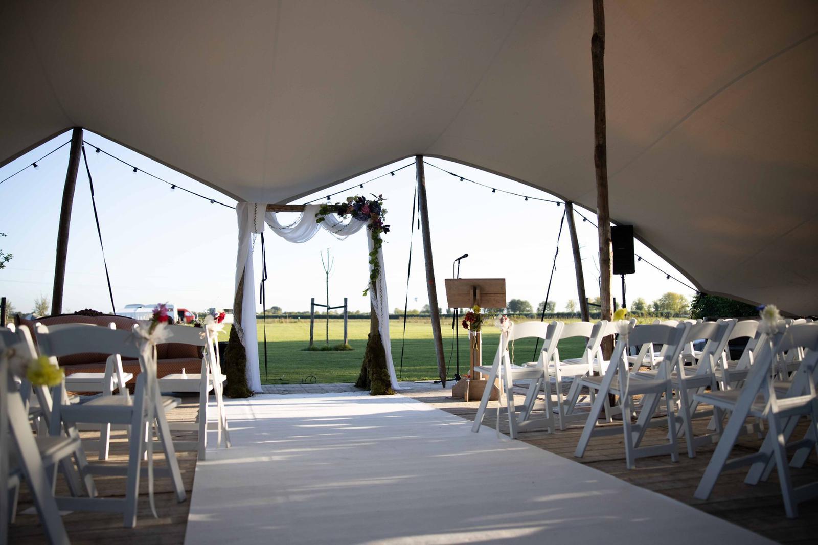 Decoratie styling bruiloft